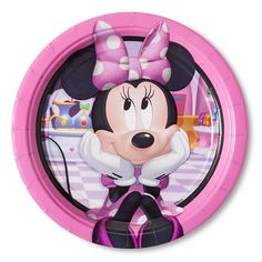 Minnie Mouse Snack Plate 8 Count