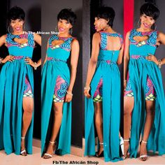 Ashanti Dress by THEAFRICANSHOP on Etsy, £80.00