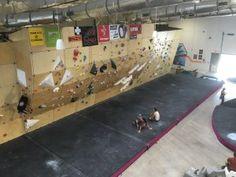 Future Wall  @cruxcc in Austin #climbinggymreviews