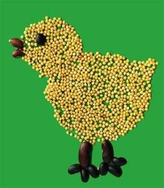 Kuře z hrachu