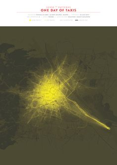 """""""Sense of Patterns - One day of Taxis in Vienna,"""" by Mahir"""