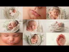 Wrapping & Posing Tutorial - CrissCross Technique (newborn photography) - YouTube