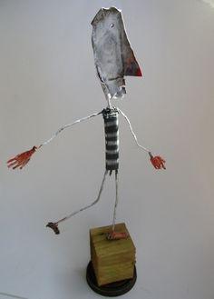 gerard collas,assemblages sculpture