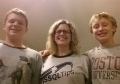 MSSQLTips.com fan Amy Fernandez, with her two future DBA's.