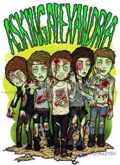 zombie asking alexandria