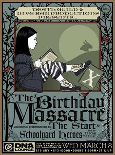 GigPosters.com - Birthday Massacre, The - Start, The - Schoolyard Heroes - Dj Decay - Dj Omar