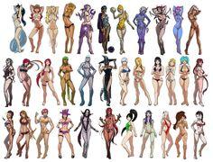 League of Legends Swimsuit Edition XI by Chakrahn.deviantart.com on @deviantART