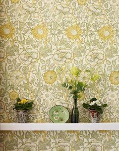 William Morris Pink and Rose Wallpaper William Morris Tapet, William Morris Wallpaper, Morris Wallpapers, Rose Wallpaper, Wall Wallpaper, Pattern Wallpaper, Tapete Pink, Design Repeats, Principles Of Design
