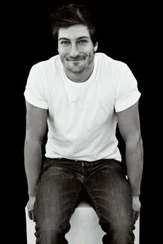 Honestly I can't take it. Daniel Lissing, Jack Thornton, Erin Krakow, Jack And Elizabeth, Great Tv Shows, Irish Men, Black And White Portraits, Fine Men, Pretty Eyes