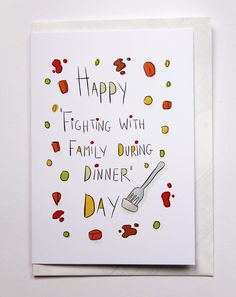 Fighting with Family During Dinner Day - Twisted Doodles