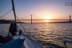 Get a new perspective of Lisbon from on board a luxurious yacht on a 2-hour sunset cruise from Belém Tower, passing the Cristo Rei monument, Terreiro do Paço and Alfama along the way. Sail the calm waters of the Tagus River as the sun sets over the city.