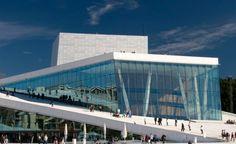 Angular Architecture, Oslo Opera House, Rehearsal Room, Stage Curtains, Ballet Studio, Metal Facade, Ballet Performances, Glass Facades, Travel Advice