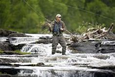 Fly fish right here in the Gore Creek!