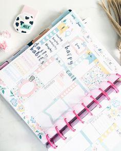 1st Half of my week in my @the_happy_planner #beforethepen    Primera parte de mi semana! En mi @the_happy_planner by lepetitjoanne