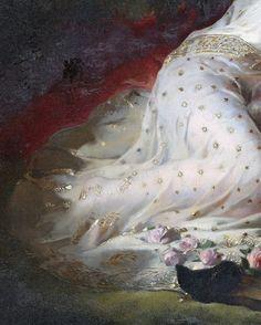 Edwin Landseer (1802 - 1873) Titania and Bottom (fragment)