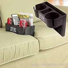 Bon SOFA CUSHION DRINK HOLDER Basement Storage, Couch Storage, Buy Sofa, Couch  Cushions,