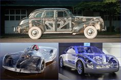 Transparent Cars Leave Nothing To The Imagination -  #carporn #cars
