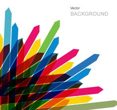 VECTOR ABSTRACT BACKGROUND CREATED WITH COLORFUL ARROWS.. More Free Vector Graphics, www.123freevectors.com