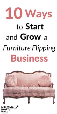 how to start a side hustle how to make extra money start a business tips for flipping furniture how to start a furniture flipping business make money from home ideas to make money make money on the side side hustle ideas by meganfranzino Read Refurbished Furniture, Upcycled Furniture, Furniture Makeover, Furniture Refinishing, Furniture Repair, Building Furniture, Funky Furniture, Painting Furniture, Diy Painting