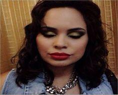 Maquiagem de ontem da @mnstore88 feita pelo Beauty Team da NYX do Shopping Manauara