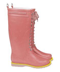 Coral Tall Rain Boot