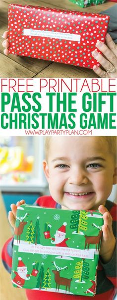 This gift exchange game is one of the best Christmas party games, and it's easy enough you could plan it for adults, for kids, or even for an office party! Simply change up the gift inside and it could also work for a Christian themed party, a for women only party, or even for family night!