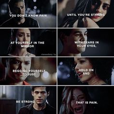 Shadowhunters Malec, Shadowhunters The Mortal Instruments, Clace, Alec And Jace, Clary And Jace, Shadowhunter Quotes, Feeling Broken Quotes, Cassie Clare, The Dark Artifices
