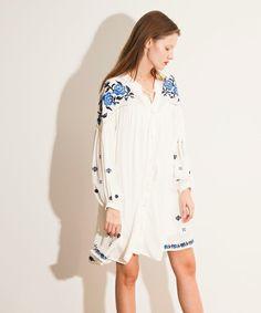フラワー刺繍ワンピース(ワンピース)|snidel(スナイデル)のファッション通販 - ZOZOTOWN