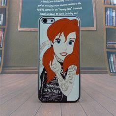 Carcasa Iphone 5/5s Ariel Princesa Tatuada Rocker - $ 80.00 en MercadoLibre