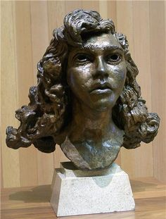 Sir Jacob Epstein 10 November 1880 19 August 1959 was a British sculptor who helped pioneer modern sculpture He was born in the United States and moved Sculpture Head, Portrait Art, Portraits, Sense Of Place, Contemporary Sculpture, 3 D, Curls, Art Gallery, Bronze