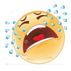 Illustration of a crying smiley Funny Emoji Faces, Funny Emoticons, Emoji Images, Emoji Pictures, Emoji Love, Cute Emoji, Naughty Emoji, Emoji Characters, Smiley Emoji
