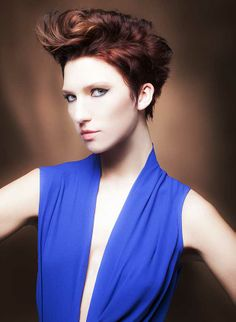 """Desert Light"" Hair | Coiffure: Eli Mancha for Pivot Point International Styling | Stylisme: Marta Cebrat Makeup | Maquillage: Fredy Photo: Babak #Hair #Style #Fashion #Desert #Light #Hairbrained"