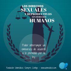 Poder interrumpir un embarazo de acuerdo a lo permitido por la ley Calm, Cool Stuff, Health, Movie Posters, Stickers, Reproductive Rights, Human Rights, Law, Pregnancy