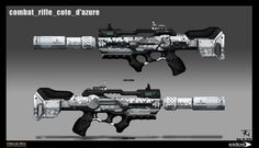 Deus Ex Mankind Divided: Combat Rifle, Trong-Kim Nguyen