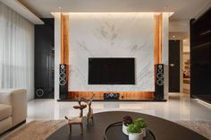 Lobby Interior, Interior Work, Living Room Interior, Interior Design, Living Room Modern, My Living Room, Home Theather, Tv Feature Wall, Modern Tv Units