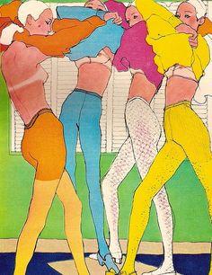 elisemesner Illustrated by Antonio, circa 1960s