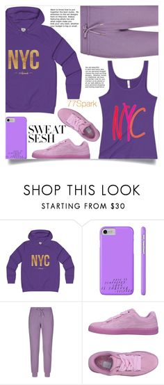 """Sweat Sesh: Gym Style (19)"" by samra-bv ❤ liked on Polyvore featuring EA7 Emporio Armani and Puma"