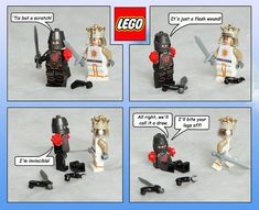 (Unfotunately) Fictional Monty Pyton And The Holy Grail LEGO Sets