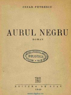 I'm reading Aurul Negru on Scribd