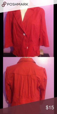 NWT Sanoma Jacket/Blazer Button Down Blazer Sonoma Jackets & Coats Blazers