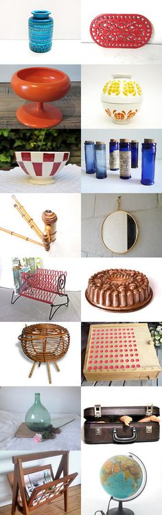 French vintage treasury from France by Laura on Etsy--Pinned with TreasuryPin.com #Etsy #EtsyFR #FrenchVintage #French #vintage #VintageFinds #vintagefr #retro #EtsyFinds