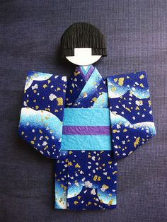 Origami Paper Doll