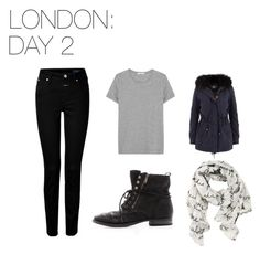 London: Day 2 by skittlebug1 on Polyvore featuring ADAM, Closed, Sam Edelman and Disney