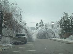 Arkansas ice storm!