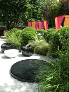 Kamikori Space by Christian Fournet, Paysagiste at Jardin Des Tuileries Show 2012 in Paris
