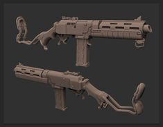Unfinished low-poly guns for the closed project. Anime Weapons, Sci Fi Weapons, Weapon Concept Art, Fantasy Weapons, Weapons Guns, Guns And Ammo, Steampunk Weapons, Future Weapons, Military Guns