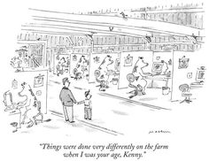 The New Yorker Cartoons.