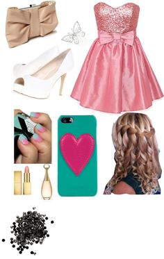 """valentines day dance"" by ekenney368 ❤ liked on Polyvore"