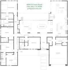 Ranch Style House Plan - 2 Beds 2.50 Baths 2507 Sq/Ft Plan #888-5 ...