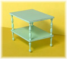 how to: end table